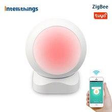 Intelliarts تويا زيجبي PIR محس حركة الأشعة تحت الحمراء اللاسلكية للكشف عن الإنسان الأمن لص جهاز استشعار إنذار الحياة الذكية APP