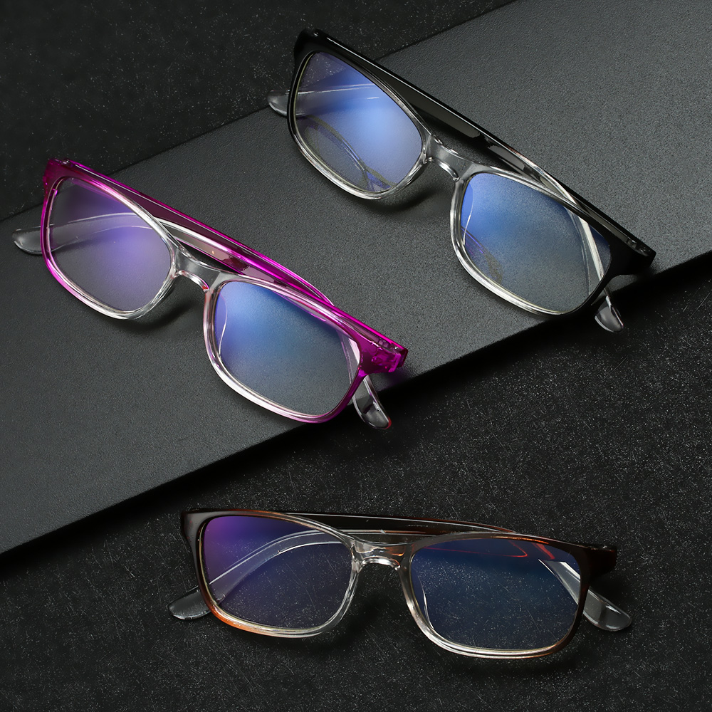 Fashion Vintage Computer Phone Anti-blue Light Reading Blocking Glasses Urltra-light Eye Protection Radiation Goggles Eyeglass