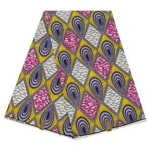 Image 4 - Batik Ankara Africa Printing Patchwork Fabric Guaranteed Real Wax Tissu 100% Cotton Best Quality For Dress Making Craft Material