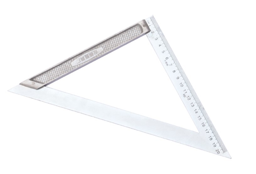 Manufacturers Direct Selling Triangle Ruler Angle Ruler Right Angle Triangle Ruler Woodworking Triangle Ruler