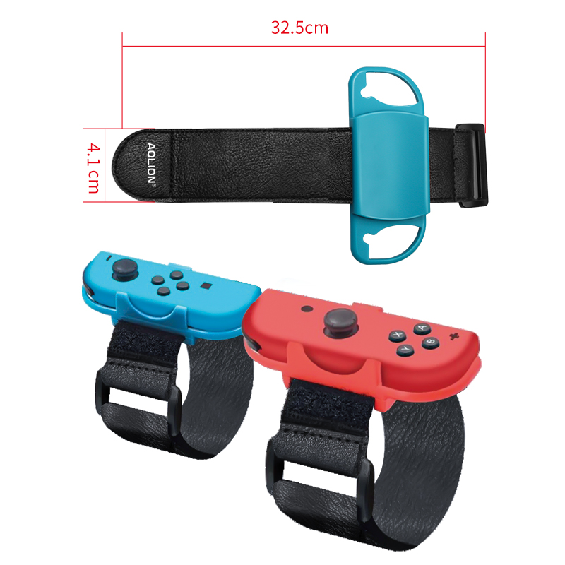 cheapest AOLION Game wristband For NintendSwitch Adjustable Elastic dance wrist band Just dance Joycon controller For NS Game Accessories