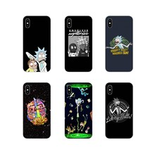 Customize Case Cartoon Meme Rick And Morty Splendid For Samsung Galaxy S3 S4 S5 Mini S6 S7 Edge S8 S9 S10 Lite Plus Note 4 5 8 9(China)