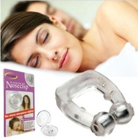 Clipple Silicone Magnética Anti Snore Parar Ronco Clipe Nasal Sono Ajuda