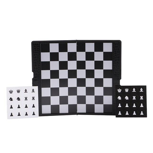 Mini portefeuille d'échecs de voyage magnétique mis bon cadeau de conception pour le voyage Durable 2