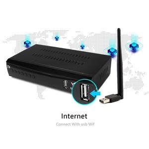 Image 4 - 2020 החדש DVB T3 DVB T2 terrestrial מקלט HD 1080P טלוויזיה טיונר DVB T2 מפענח H.265 תמיכה youtube USB WIFI דיגיטלי מקלט