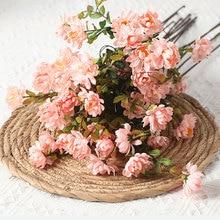 цена на 2 Pcs Simulation Flower European Country Simulation Plant Wild Chrysanthemum Fake Flower Artificial Flower Home Decoration