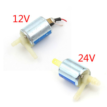 Mini Micro Solenoid Valve 12V 24V DC Electric Water Air Gas Valve Discouraged Normally Closed Drop Ship ebowan electric brass 12v dc solar hot water solenoid valve 1 2 normally closed ac 220v dc 24v