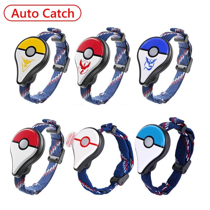 Bracelet Auto en alliage pour Pokemon GO Plus Bracelet Bluetooth Figure Interactive jouets pour interrupteur de couleur Pokemon Go Plus