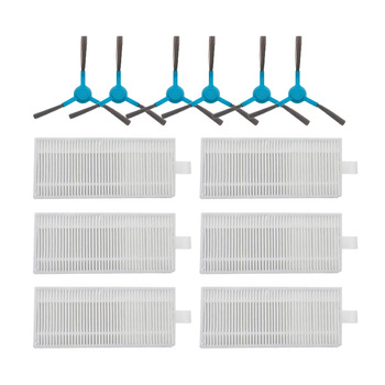 Hepa Filters Mop Cloth Side Brush Replacement For Cecotec Conga Series 4090 Vacuum Cleaner Parts