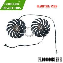 95MM PLD10010B12HH DC12V 0.40A 4PIN graphics fan RTX2070 X-8G Cooling Fan for MSI RTX 2070 GAMING Z Card Fan