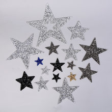 Multi Maten Kleding Patches Crystal Diy Ijzer Op Hot Koop 1 Pc Warmteoverdracht Schoen Populaire Applique Kleding Zak Strass ster(China)
