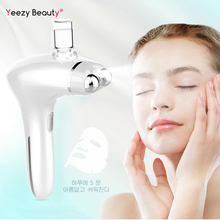 Mluti-function LED Photon Light Therapy Beauty Device Anti Aging EMS Face Lifting Tightening Skin Cleansing Care Tools