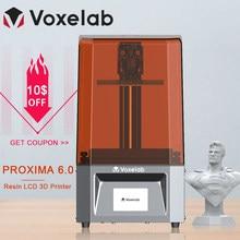 Voxelab Proxima 6.0 stampante 3D stampante per fotocellula UV ad alta precisione 2k LCD Kit fai da te con velocità di stampa rapida Dropship