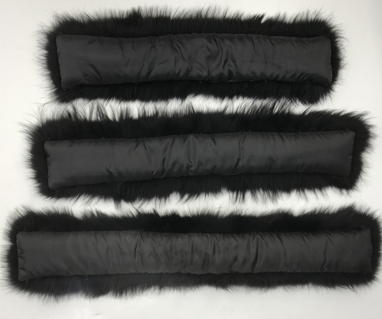 Воротник из натурального меха натуральный мех енота шарф для мужчин женщин детские парки пальто мужской мех воротники черный 50 60 70 90 см