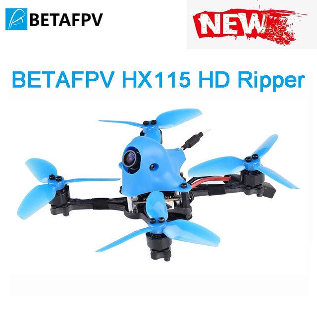 BETAFPV HX115 115mm HD 3 4S Freestyle Ripper toothpick Quad Drone with customized RunCam Split 3 Nano Camera 1105 5000KV motor