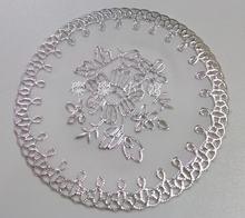 Белый диаметр 10 см ПВХ коврик для тарелок чаша стол отель столовая