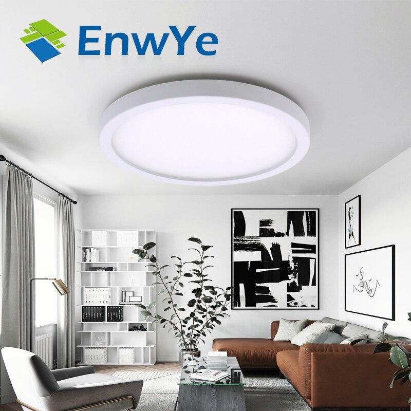 EnwYe LED Oberfläche Montiert decke licht 24W 28W 38W AC 85-265V lampada led lampe