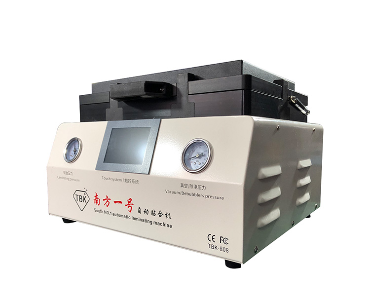 TBK Bubble Removing Vacuum Laminating Machine with LCD Touch Screen and Large Laminating Area