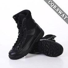 Прямые поставки CQB. Сверхлегкие армейские ботинки Swat, амортизирующие, с высоким берцем, для улицы, тактические ботинки, армейские ботинки, дышащие