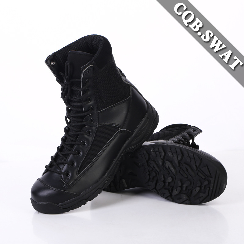 Direct Supply CQB. Swat Super Lightweight Combat Boots Shock Absorption Hight-top Outdoor Tactical Boots Combat Boots Breathable