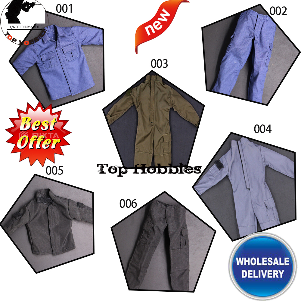 CUKE TOYS 1//6 MA-013A Costume T-shirt Overalls Clothes Fit 12/'/' Male Action Body