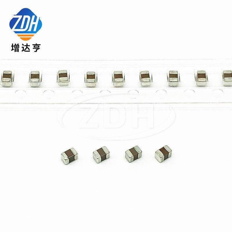 100pcs/50 100NF capacitor de cerâmica 2012 0805 104K 0.1UF 100V 250V X7R 10%
