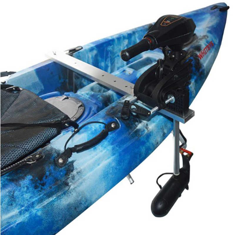 Kayak Da Pesca Kit di Montaggio Canoa Barca a Motore Marino Motore di Pesca A Traina Del Motore a Bordo di Blocco Staffa-Deluxe e Forte