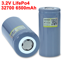 2021 LiitoKala 32700 LiFePO4 3.2V 6500mah 35A continuous discharge 55A High power For screwdriver battery Electric Bike powered