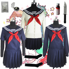 My Hero Academy Boku no Hero Academy химико Тога JK Униформа юбки свитер толстовки кардиган косплей костюмы парики