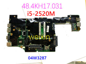 for Lenovo 04W3287 ThinkPad x220 Laptop motherboard H0225-3 48.4KH17.031 Core i5-2520M 2.5GHz Mainboard 100% working