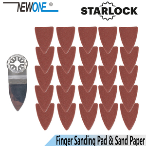Image 1 - NEWONE Starlock hojas de sierra para pulir dedos y juegos de papel de lija, aptas para herramientas eléctricas oscilantes para pulir madera Metal cerámica más