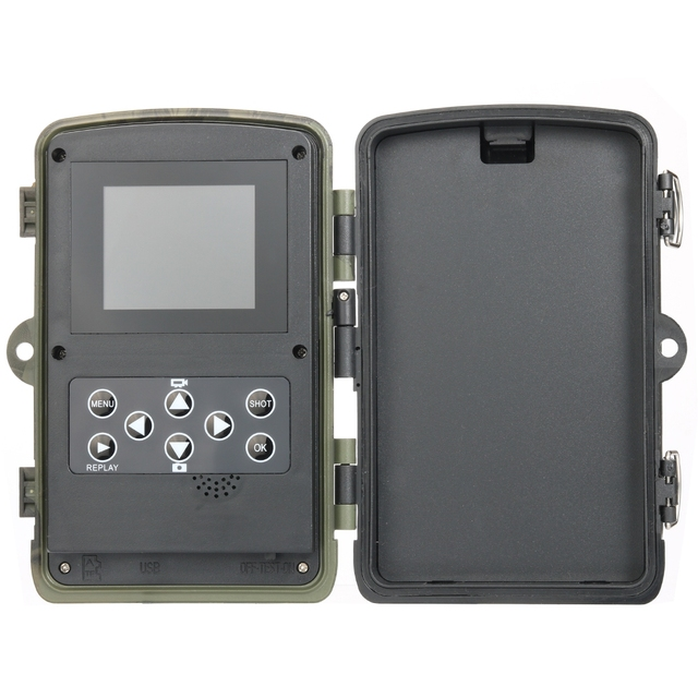 HC801A 20MP Hunting Trail Camera Wildlife Camera Night Vision Motion Activated Trail Camera Trigger Scouting Waterproof 4