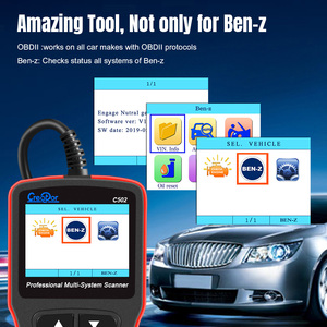 Image 3 - Newest Creator C502 Car OBD 2 Diagnostic Tool Full Systems Auto Diagnostic Scanner Professional For Mercedes Benz OBD2 Scanner