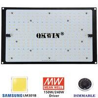 Spain warehose dropshipping 240W Led Grow Light Samsung LM301B Board Full Spectrum 3000K 5000K 660nm IR DIY (MW XLG Driver)
