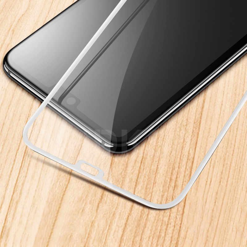 9D Kính Bảo Vệ Trên Cho Huawei P20 Pro P10 Lite Plus P9 Lite Plus P Thông Minh An Toàn Màn Hình Cường Lực tấm Kính Bảo Vệ Bộ Phim