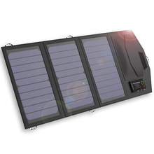 Allpowers 5V 15W Portable Solar Panel Built-in 10000mAh Battery Foldable Solar Charger Suitable For All Phones Outdoor Camping