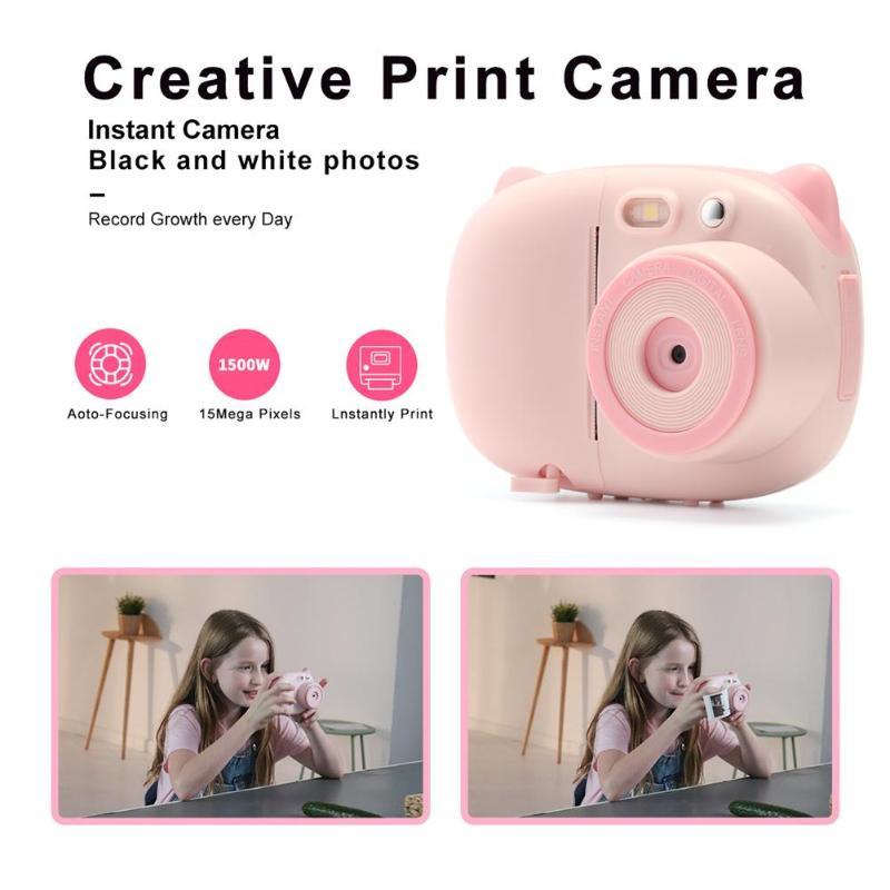 P02 TFT 2.4 pouces WiFi 1080P enfants Mini mignon caméra numérique enregistreur vidéo caméscope HD CMOS 8MP capteur de pixels - 4