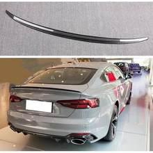 Alerón de fibra de carbono para coche, accesorios para AUDI A5 S5 RS5 B9 Sportback Coupe 2017 2018 2019 2020 2021