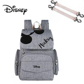 Disney Pre-design Cartoon Baby Diaper Bag Waterproof Baby Bag Organizer Nappy Maternity Bag For Stroller Mom Travel Free Hooks - 2