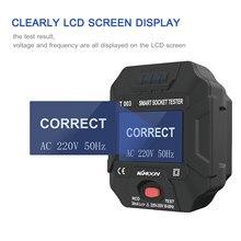 KKMOON – testeur de prise intelligente avec affichage numérique LCD, détecteur de polarité de Circuit