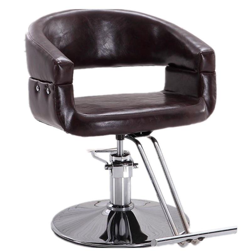 Barbershop Chair Hairdressing Chair Hair Salon Special Haircut Chair Rotary Chair Lift To Chair