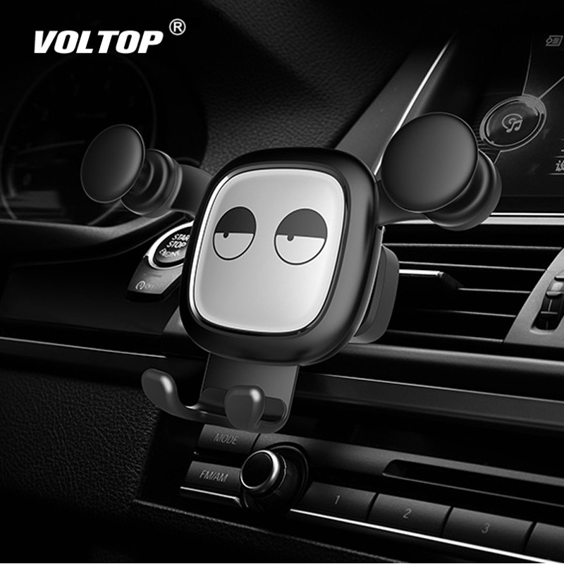 Image 2 - Bear Car Accessories Air Conditioner Outlet Gravity Phone Holder Ornament Car Interior Supplies Mobile Phone Support-in Ornaments from Automobiles & Motorcycles