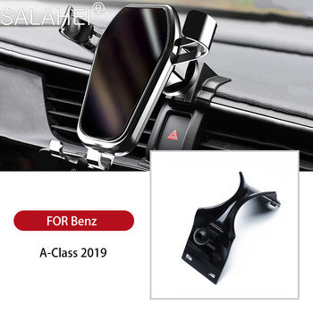 Car Phone Holder Cell Mobile Phone Holder Stand Car Air Vent Mount GPS Car Phone Holder For Mercedes-Benz A Class 2019 A180 A200 image