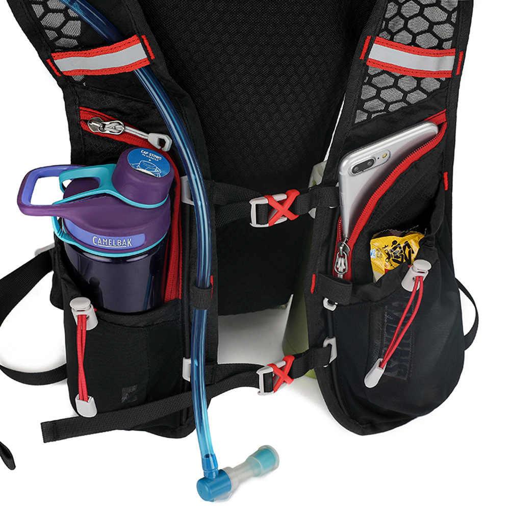 Rowerowy plecak nawadniający torba na wodę Outdoor Jogging plecak sportowy plecak do biegania z 1.8L torba na wodę jako opcja