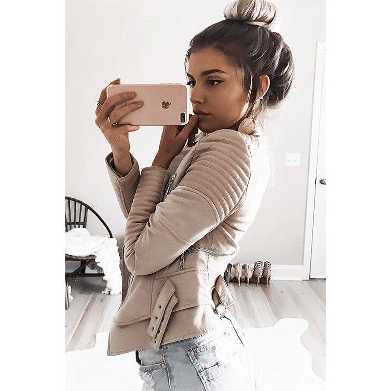 NLW AliExpress vente chaude 2019 printemps vêtements nouveau Style Europe et amérique mode daim velours veste commune