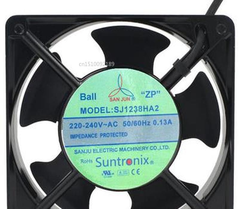 For SJ1238HA2 Original Taiwan Three Giant 110V Axial Cooling Fan 380V HA3 Free Shipping