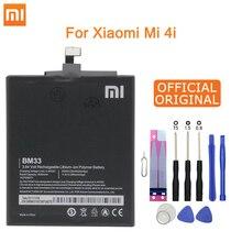 שיאו Mi המקורי טלפון סוללה BM33 עבור XIaomi Mi 4i Mi4i M4i 3120mAh החלפת סוללות חבילה הקמעונאי משלוח כלים