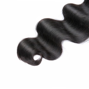 Image 4 - Body Wave 40 Inch Bundles With Closure Malaysian Hair MS Lula Natural Remy 100% Human Hair Bundles 4x4 Closure With 3 Bundles