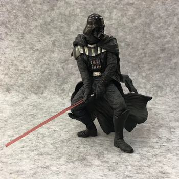Disney Star Wars:The Force Awakens Anime Figure Toy Model Darth Vader with Force Sword Figure Model Surprising Birthday Present 26cm star wars darth vader stormtrooper action figure toys the force awakens anime movies figures lightsaber gift with box