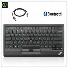 Novo Original para Lenovo ThinkPad Teclado Bluetooth 0B47189 ku1255 kt 1255 Carregador Sem Fio Tablet PC Portátil USB Trackpoint